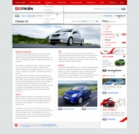 Citroen website article
