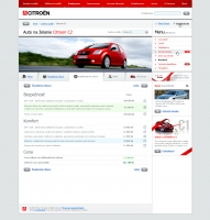 Citroen website car config 1