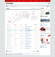 Citroen website dealer locator