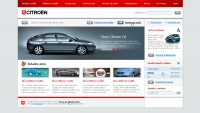 Citroen website home 1