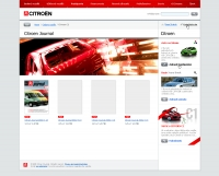Citroen website journal
