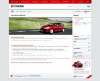 Citroen website service contract