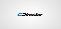 Director Logotype white
