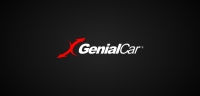 Genial Car logotype black