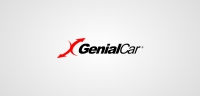 Genial Car logotype white