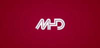 MHD logotype negative