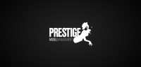 Prestige Models logotype black