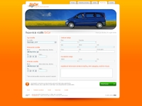 SixCar website reservation