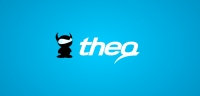 Theq logotype composition