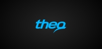 Theq logotype negative